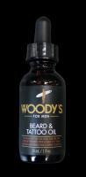 WOODY`S  Beard & Tattoo Oil 30ml + 1x Bartschere im Etui